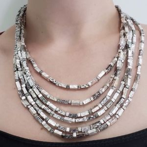 Chico's Jewelry - Chico's | Layered Silver Toned Necklace